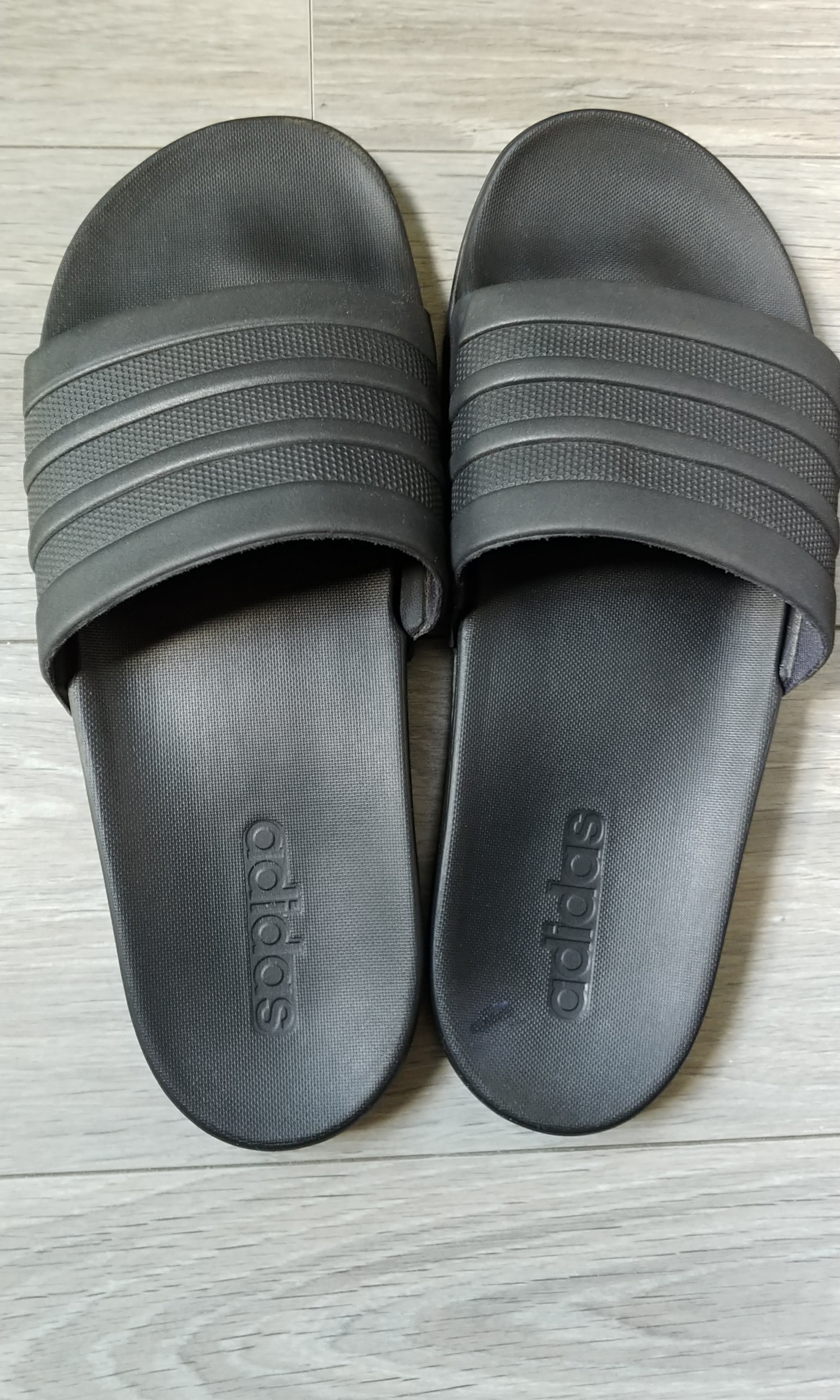 c8815421eaf6 factory price adidas adilette cloudfoam plus mono slides grey adidas ...