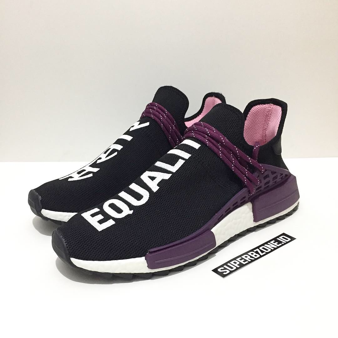 72f2478ea Adidas NMD Human Race Holi Black Purple