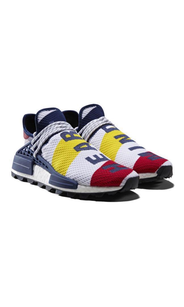 4b2e9f2d64bab Adidas Originals Pharrell Williams x Adidas NMD BBC HU EU42 US8.5 ...