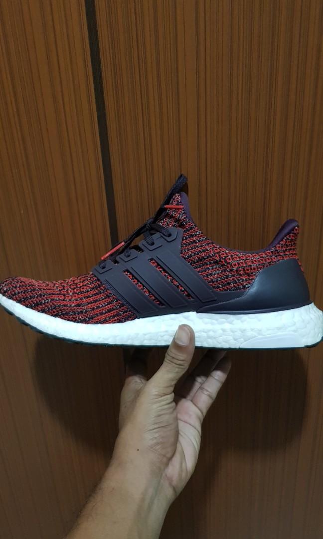 buy popular 3b258 22940 Adidas Ultraboost UK7.5 US8, Mens Fashion, Footwear, Sneakers on Carousell