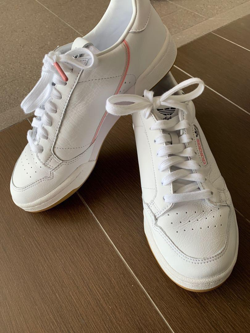 Adidas x TFL continental 80, Luxury, Shoes on Carousell