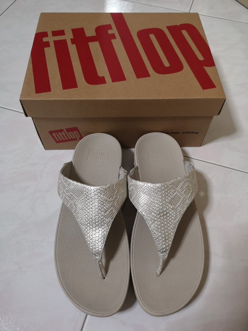 61f8cac1d Fitflop  Leather Toe-Thongs