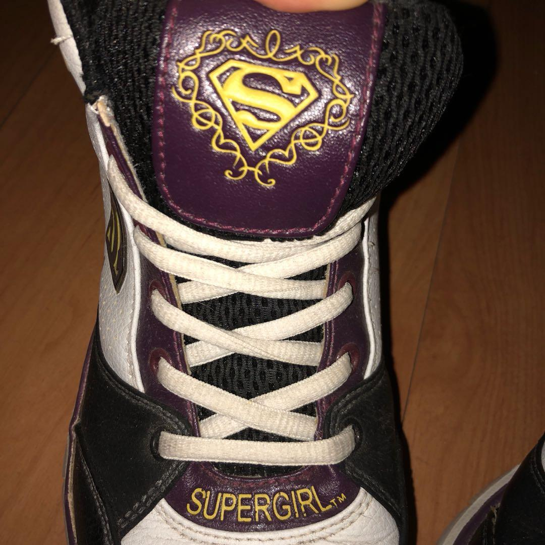 AUTHENTIC DC Supergirl High Cut Shoes
