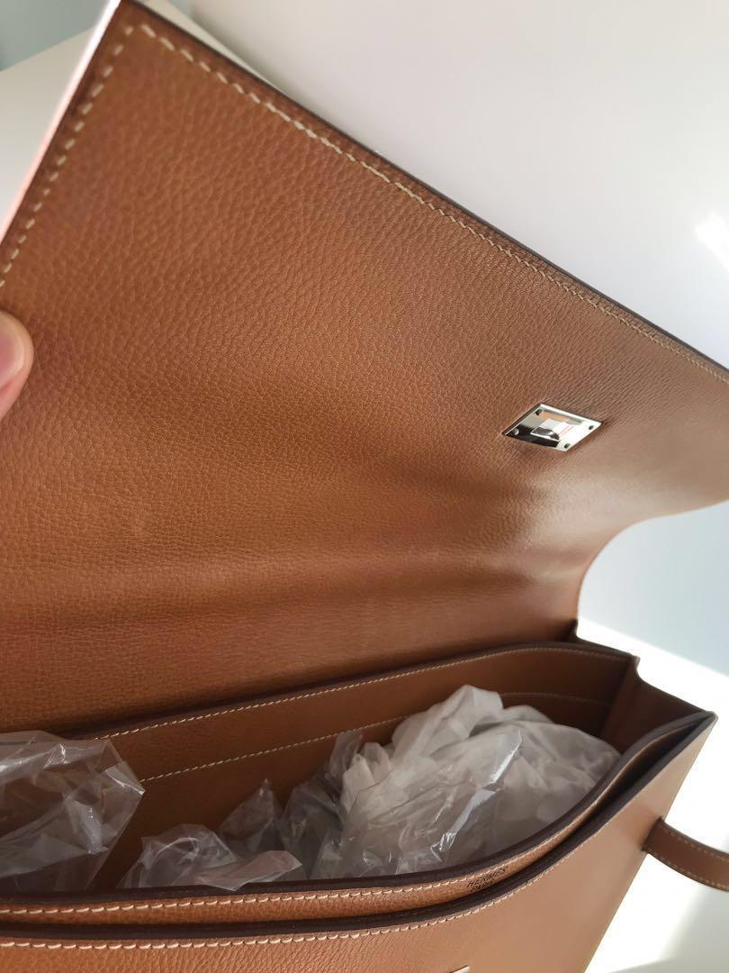 Authentic Hermès Kelly Depeche 38 Briefcase Document Holder
