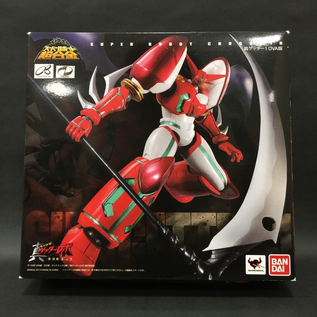 Super Robot Chogokin Mazinger Z Getter Robo Color ver FROM