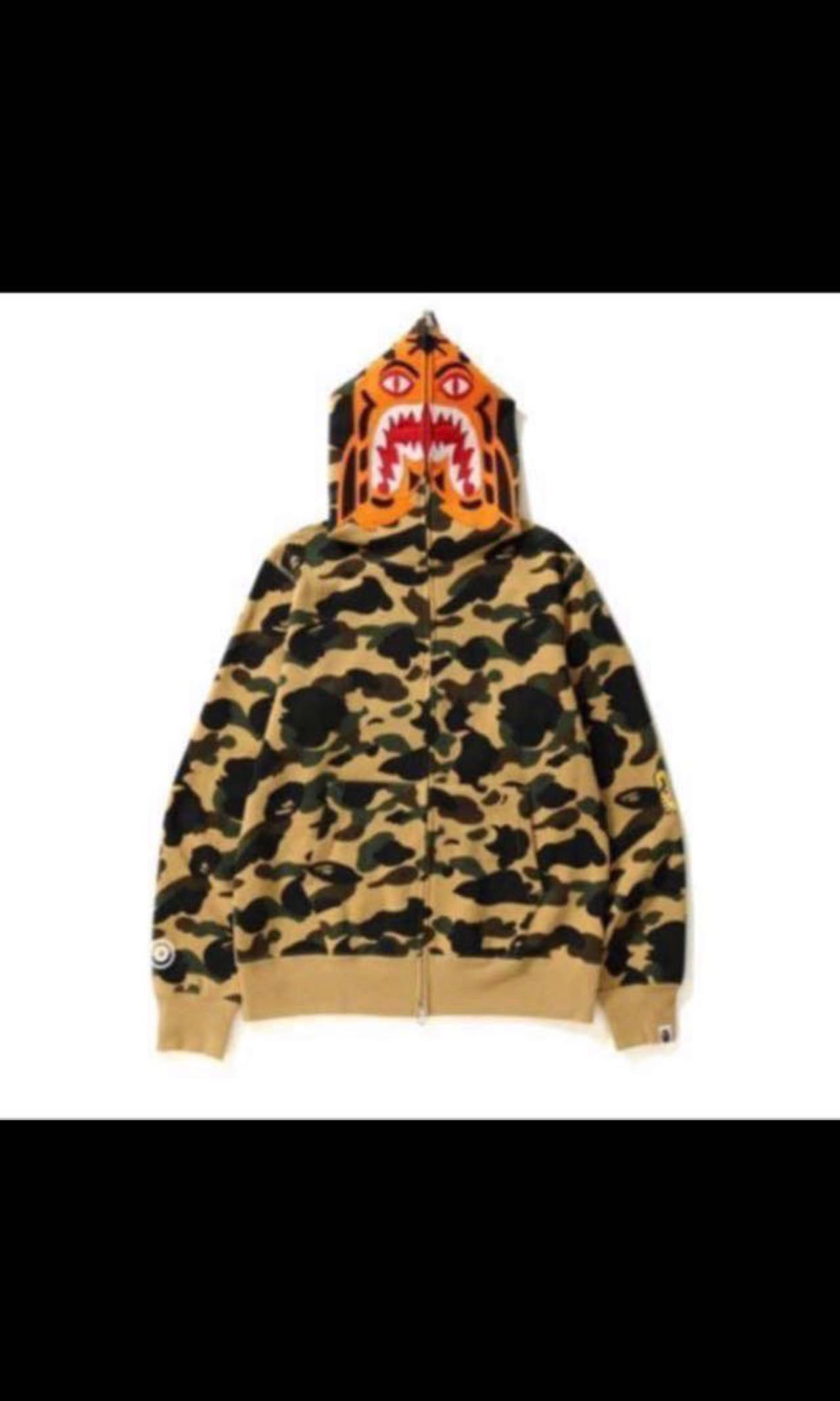 529523410d7 Bape Tiger Full Zip Hoodie (S