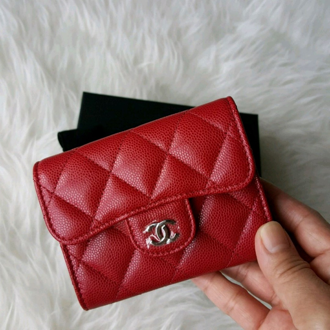 46e94ccd964a Chanel 18B XL Card Holder with Mona Lisa back pocket, Luxury, Bags ...
