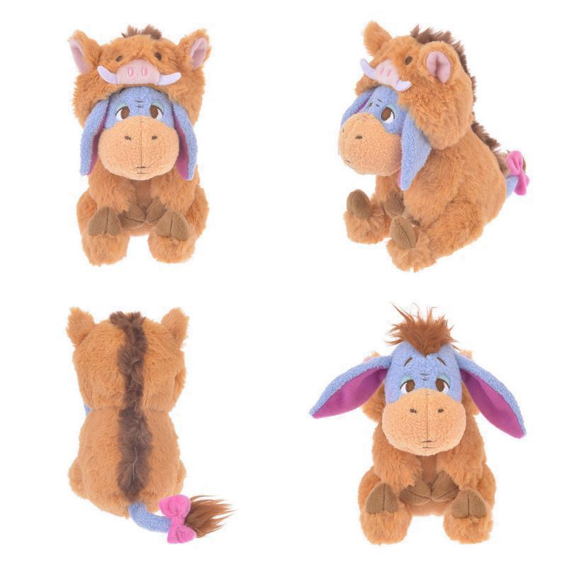 58edffb8d76d Disney store Japan Winnie the Pooh eeyore year of boar pig limited ...