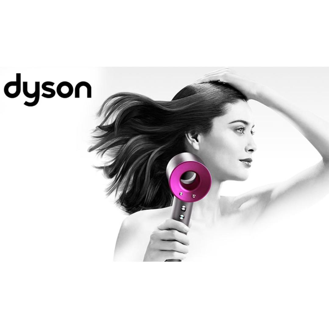 Dyson Supersonic Hair Dryer 風筒  桃紅色 (100% New)
