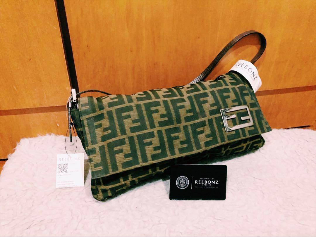 5eb4ea634da4 FINAL SALE! Authentic Fendi Zucca Monogram Handbag