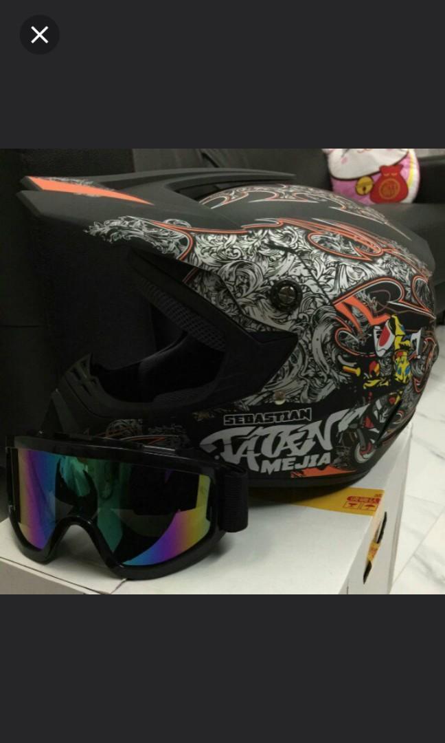 Full Face Helmet matt