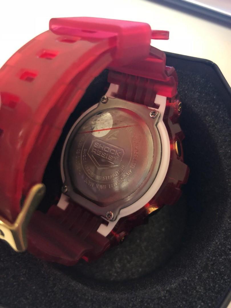 G shock Semi Transparent 200M Sport Watch DW6900