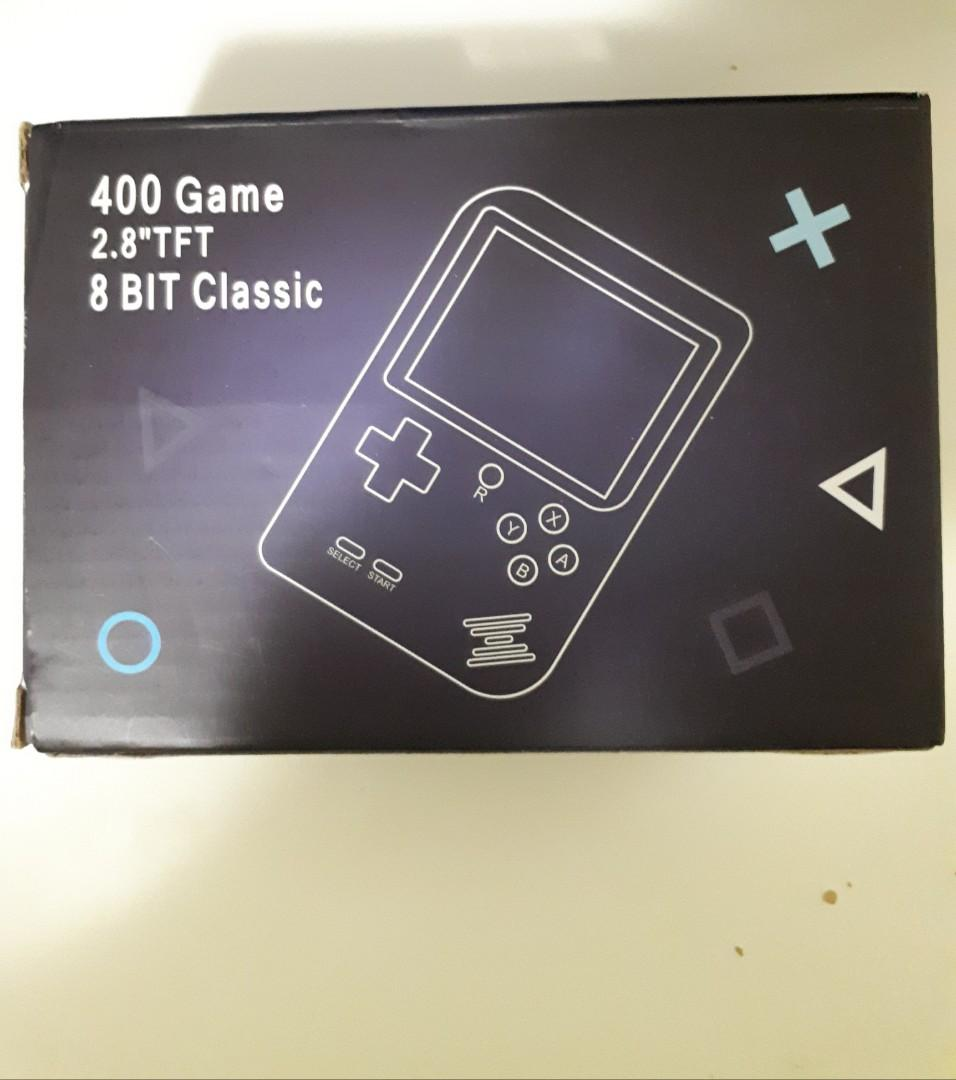 Pocket Handheld Video Game Console Built In 400 Games