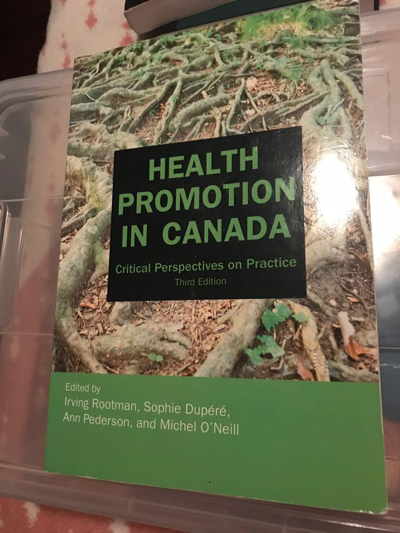Health Promotion in Canada: Critical Perspectives Third Edition