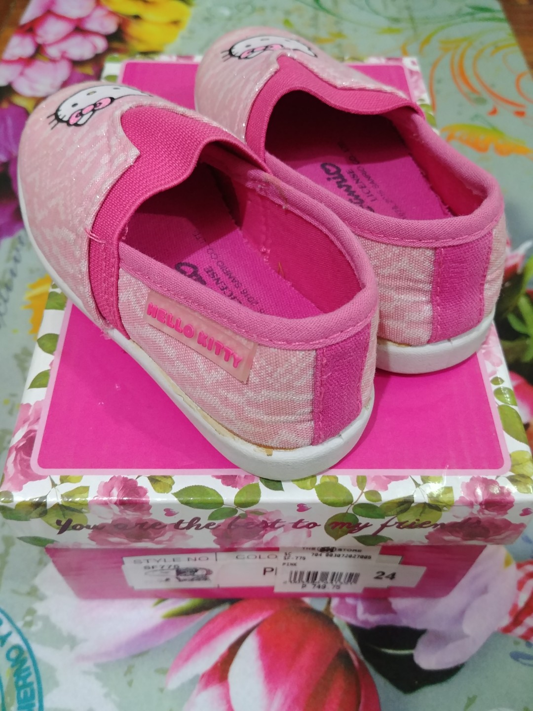 5a70a5984 Hello Kitty toddler shoes, Babies & Kids, Others on Carousell
