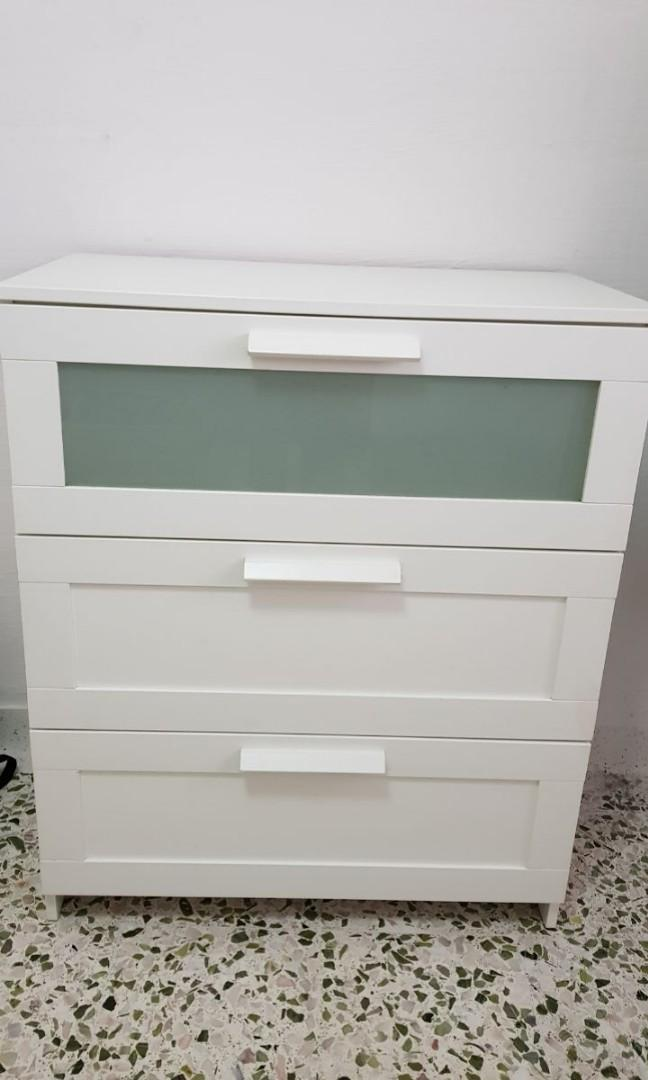 Ikea Brimnes 3 Drawer Chest Furniture