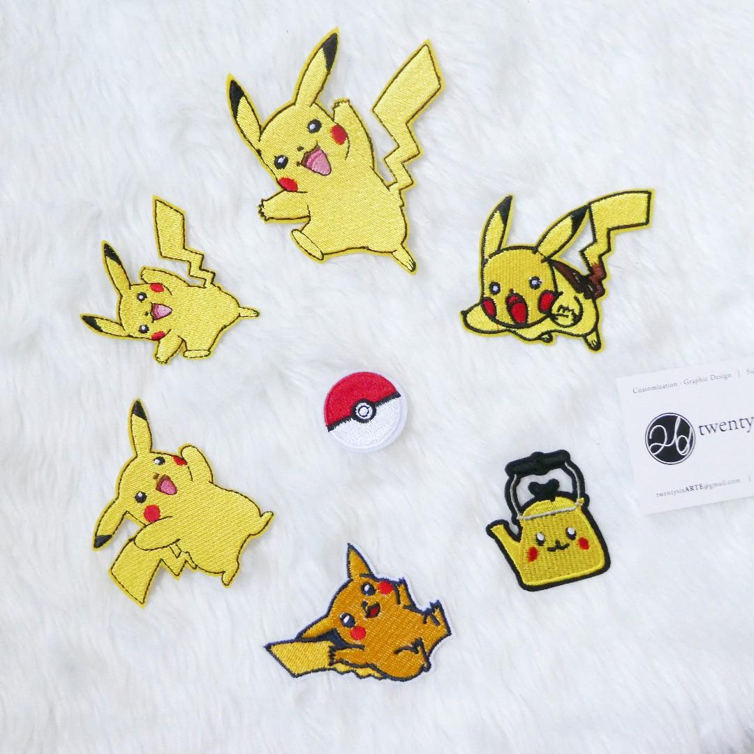 Iron On Patch | Pikachu Series