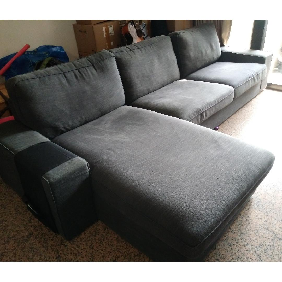 Picture of: Big Comfy L Shaped Sofa Furniture Sofas On Carousell