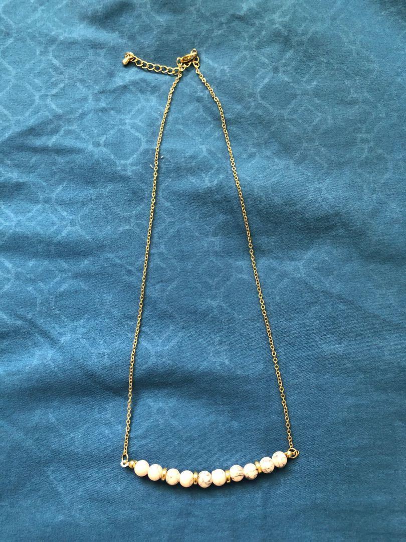 Korea design necklace