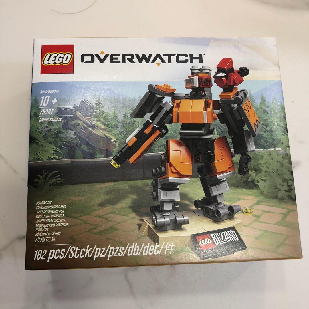 Sealed Lego Overwatch 75987 Omnic Bastion New