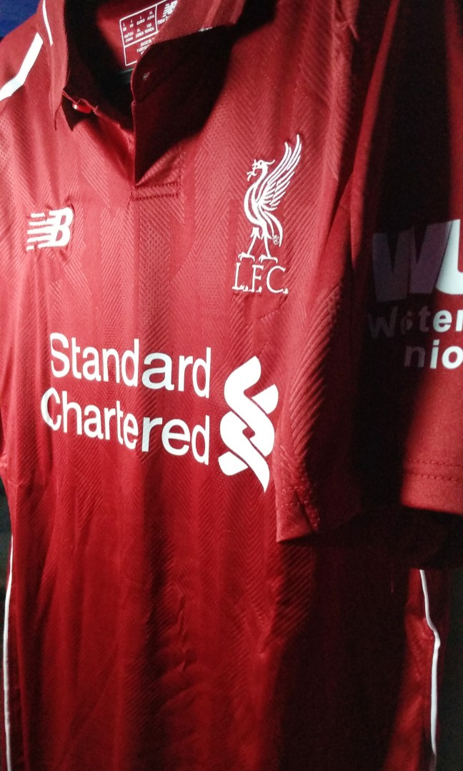 competitive price 3cd5a 8c2bd Liverpool FC Home Jersey 2018/19' Made in Thailand AA BNWT#CNYRED