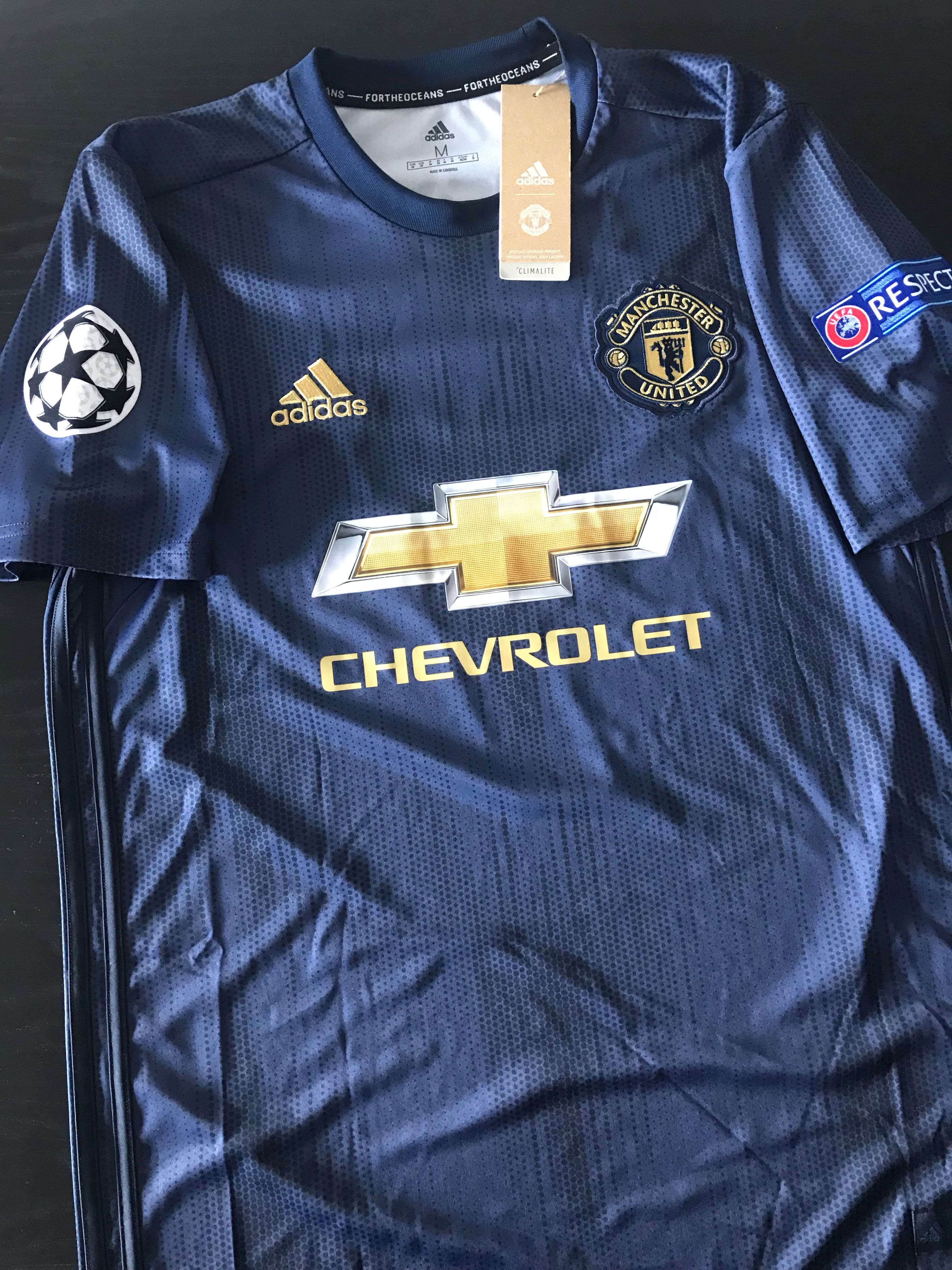 cd6b724ee Manchester United 2018 19 Third Kit