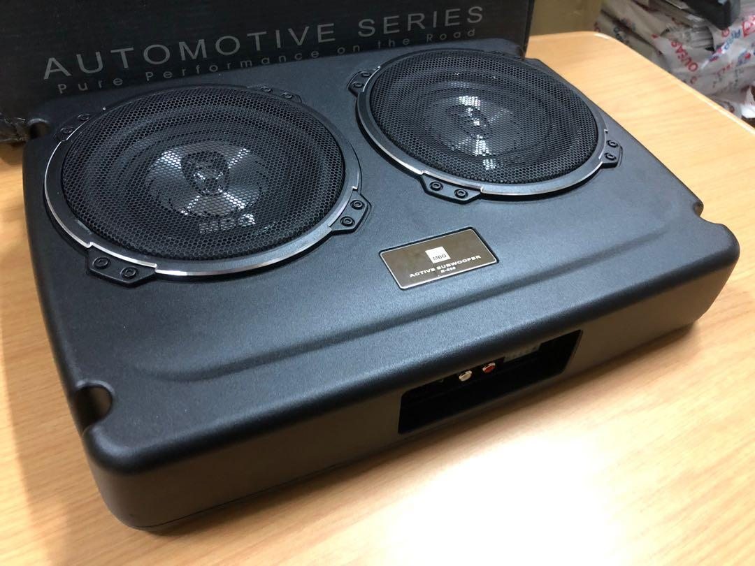 MBQ Twin 6 inch woofer, Car Accessories, Accessories on ... Mbq Subwoofer Wiring Diagram Active on
