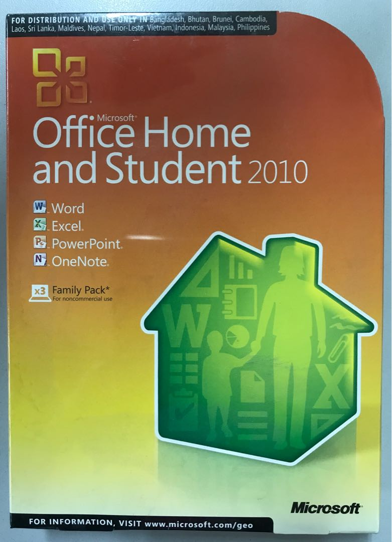 installation office home and student 2010