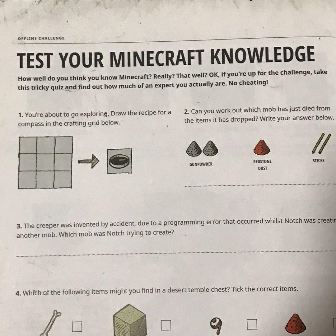 minecraft 2017 annual book