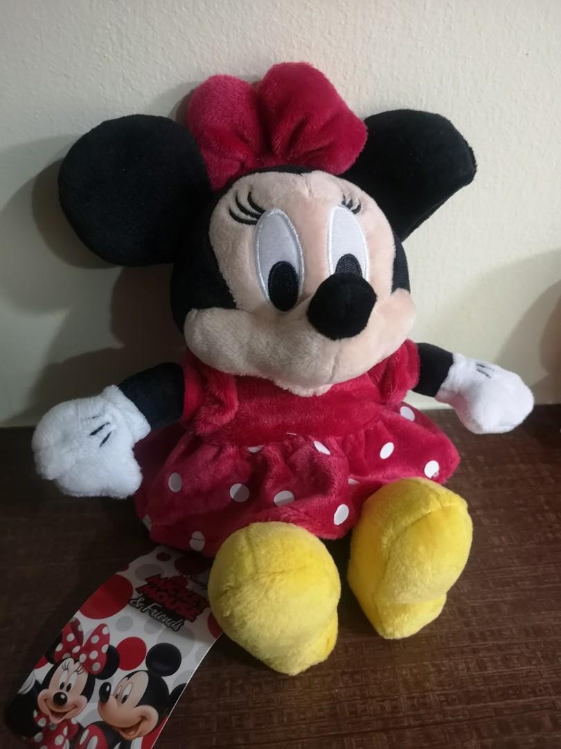 Disney Minnie Mouse Valentines Tsum Tsum Genuine soft toy plush BNWT