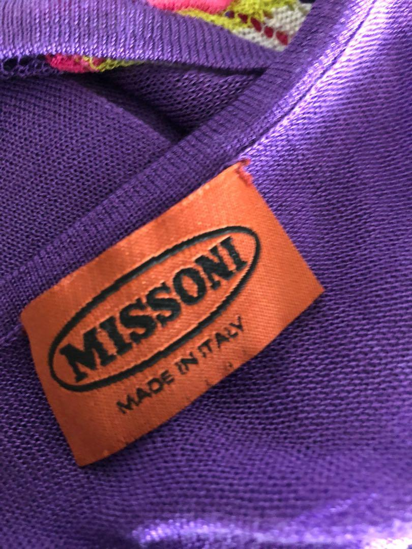 Missoni top, in size Aus 6-8
