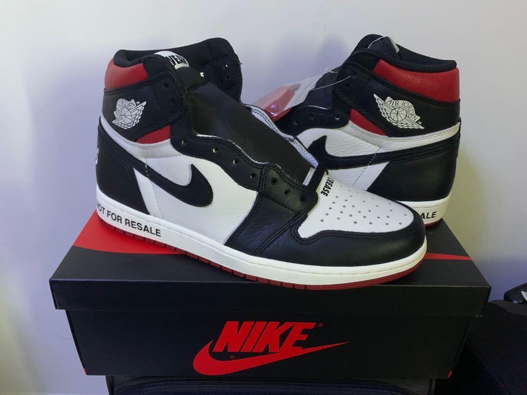 9b2c08e217b639 ... Nike Air Jordan 1 Not For Resale US11 Men s Fashion Footwear