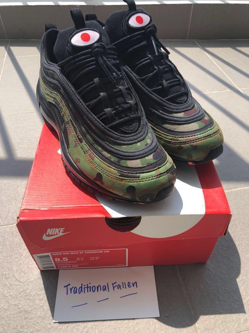 b2b74b678f Nike Air Max 97 Premium QS Japan Camo, Men's Fashion, Footwear ...