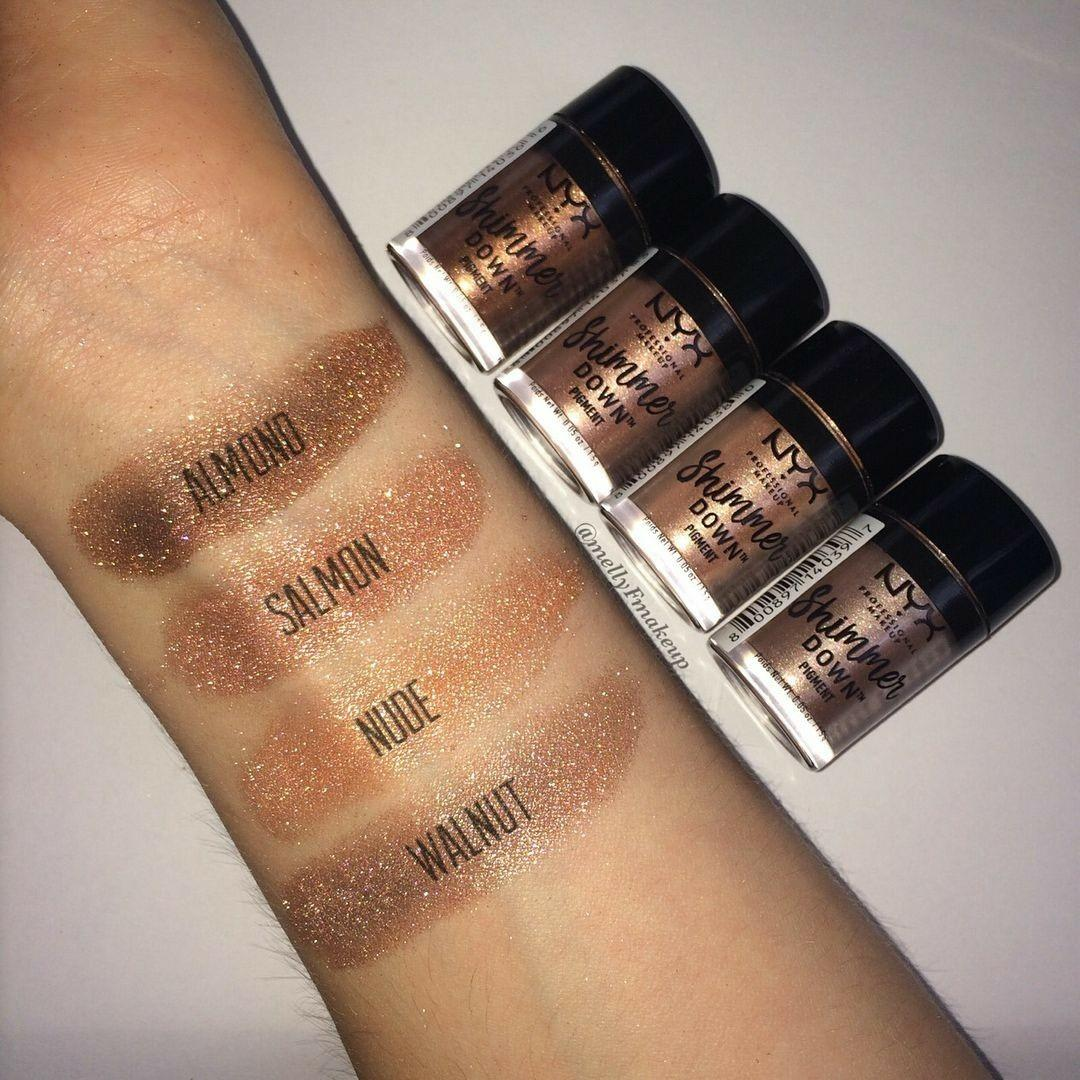 Nyx Shimmer down pigment in nude
