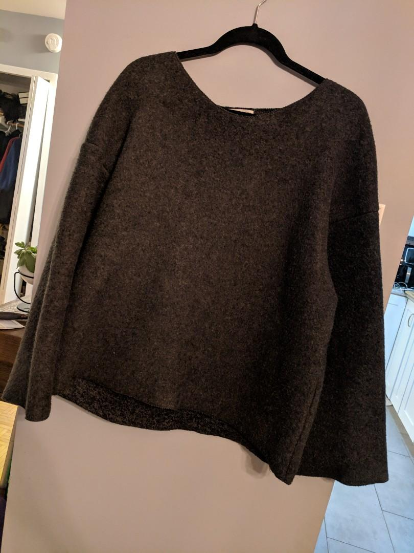 Oak and Fort Sweater Sz SM