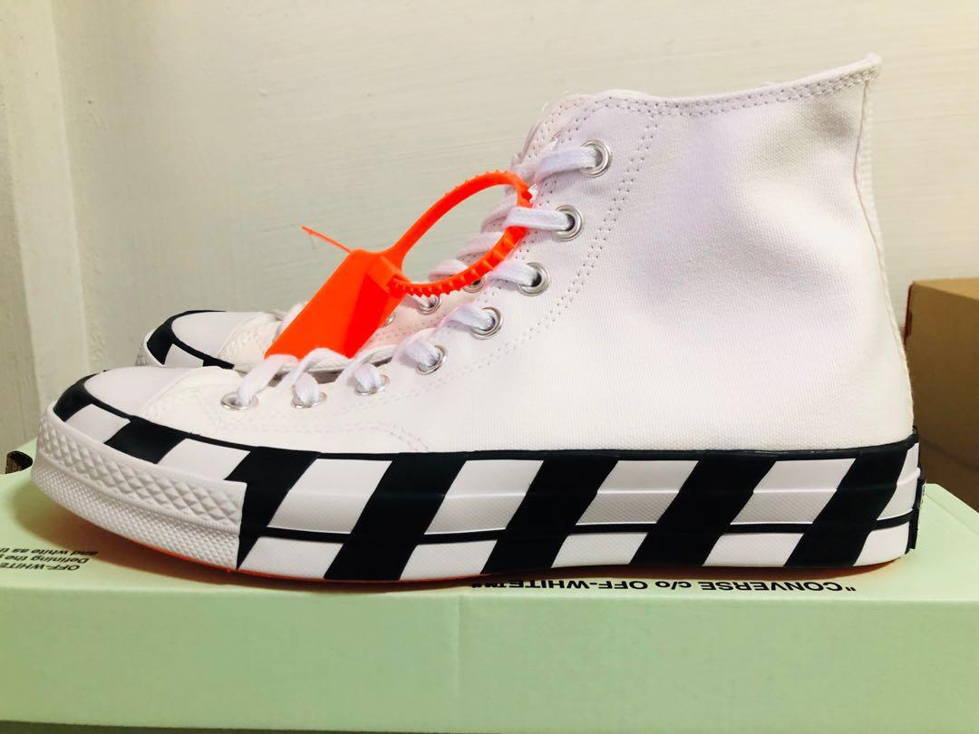 6f2c591083c4 Off-White x Converse Chuck Taylor US8
