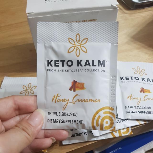 Pruvit Keto Kalm Honey Cinnamon Tea