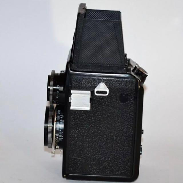 Russian Lubitel 166 TLR Medium Format Film Camera