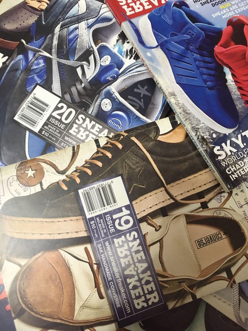 7f5bd614cf17 Sneaker Freaker Shoes Sneakerhead Magazine Book Hypebeast