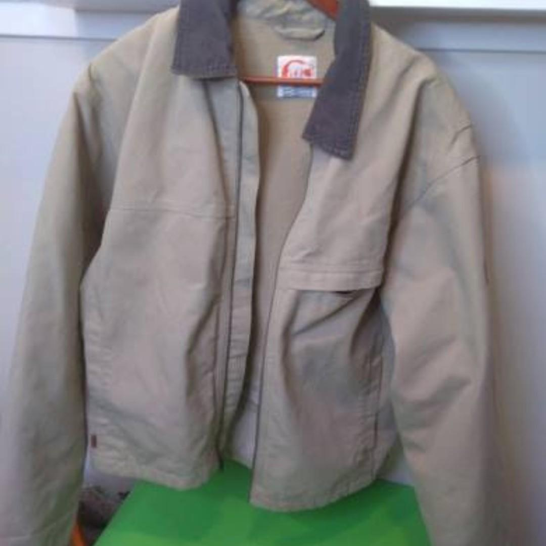 SOREL Mens Canvas/Cotton Coat Mens Large - Like New Condition!
