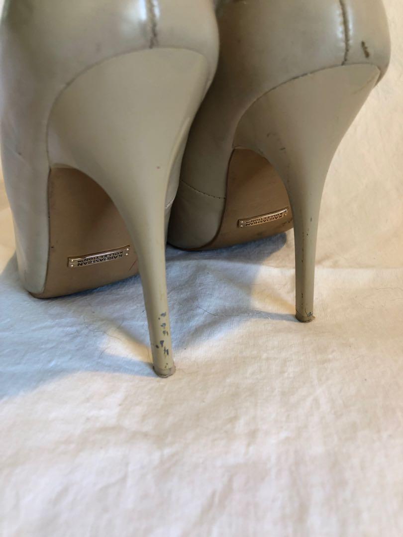 Tan Pointed Stilettos