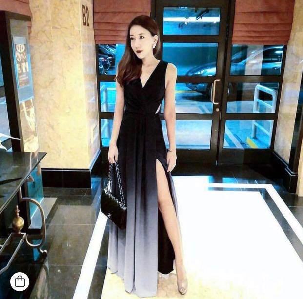 1e1e0a02b7d0 Theory of Seven Dawn Ombré Maxi Dress, Women's Fashion, Clothes ...