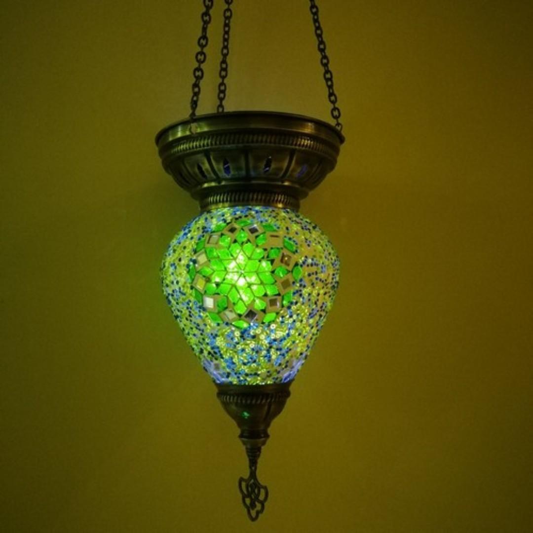 Turkish hanging lamp cone design 6 4