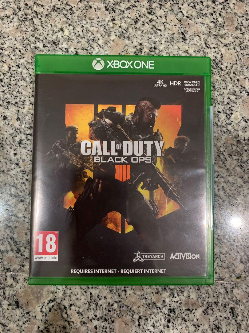 Xbox One Call Of Duty Cod Black Ops 4 Bo4 Toys Games Video