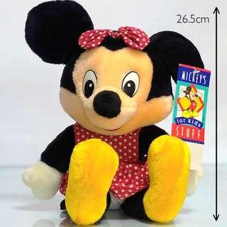 Minnie Mouse Plushy Minnie Mouse Toy Disney Collection Disney Collectibles Soft Toy Stuffed Toys Minnie Mouse Plush