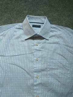 TOMMY HILFIGER Plaid Shirt Long Sleeve Size XL