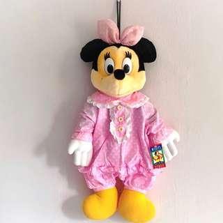 Minnie Mouse Plush Pajamas Minnie Mouse Plushy Minnie Mouse Toy Disney Collection Disney Collectibles Soft Toy Stuffed Toys