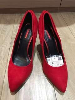 Preloved Bershka high heels size 35 #bersihbersih