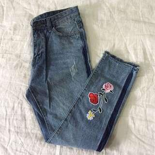 Embroidery Jeans   #NEW99
