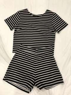 one piece striped
